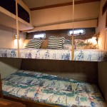 Stateroom – twin bunks